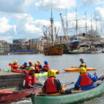 Kayak Club on Bristol Harbour