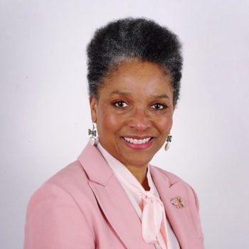 HM Lord-Lieutenant Mrs Peaches Golding OBE