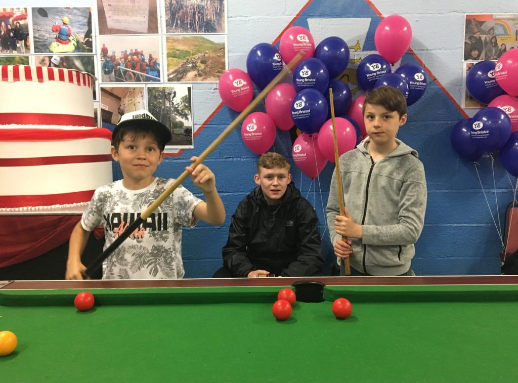 Young people at Community Youth Club