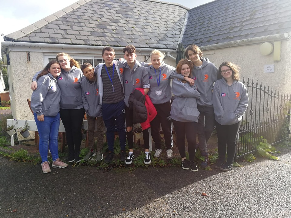 Young people on Youth Voice residential