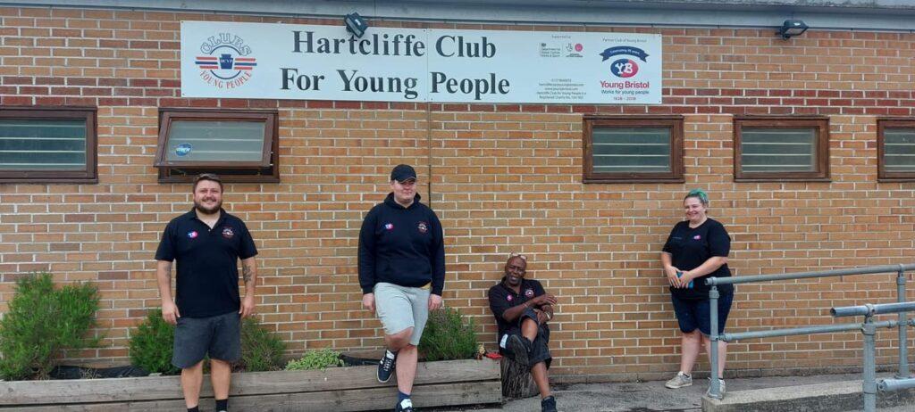 Hartcliffe Youth Club staff