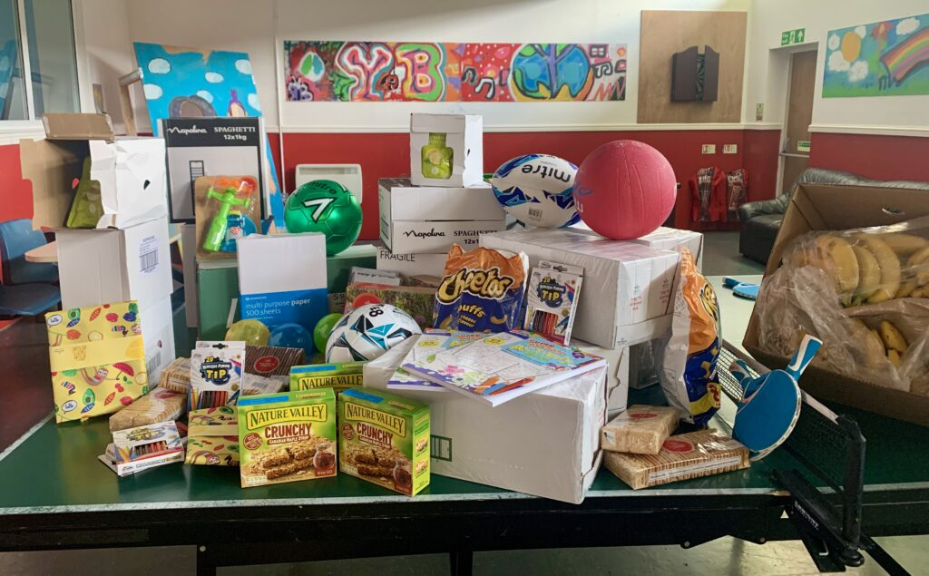 Donations from Morrisons Cribbs Causeway